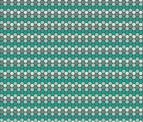 tealtiledark fabric by mrshervi on Spoonflower - custom fabric