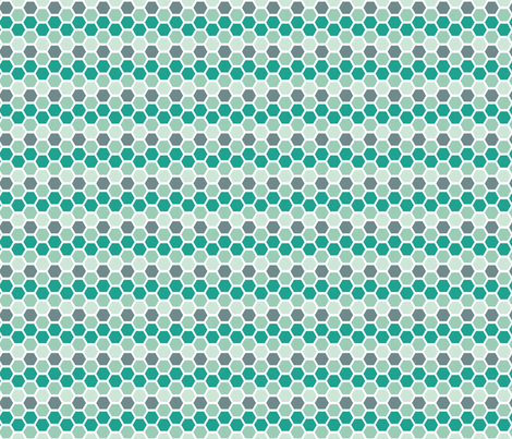 tealtilelight fabric by mrshervi on Spoonflower - custom fabric