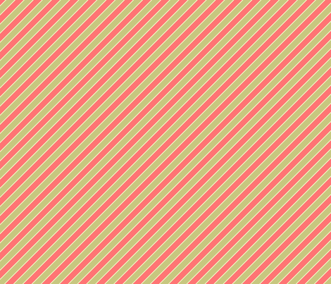 A Newer Fruit Stripe fabric by sugarxvice on Spoonflower - custom fabric