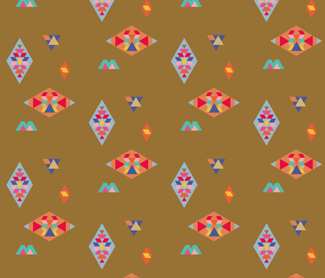 Terre Mere • treasures fabric by studiojelien on Spoonflower - custom fabric