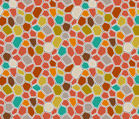 BrightMosaic fabric by mrshervi on Spoonflower - custom fabric