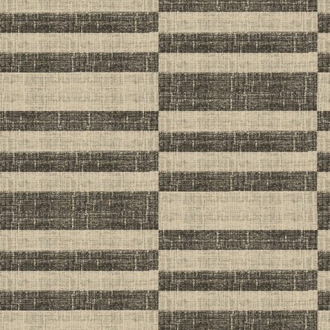 Tuscan Stripe, charcoal and ash grey