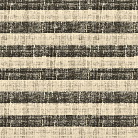 Tuscan Stripe  - charcoal and ash
