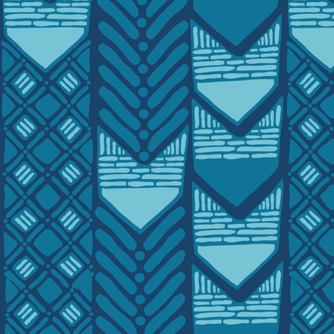 African Indigo fabric by wildnotions on Spoonflower - custom fabric