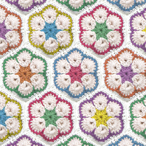 Nanna Rug fabric by eeniemeenie on Spoonflower - custom fabric