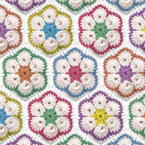 Nanna Rug fabric by eeniemeenie on Spoonflower - custom fabric