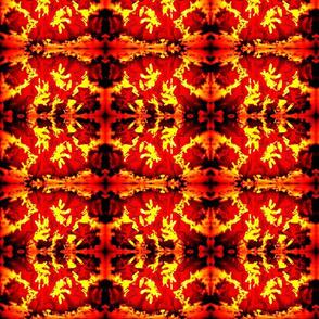 Vey Hot Fiery Leaves