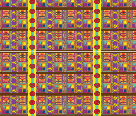 Colorful African Print fabric by scrapitdesigns on Spoonflower - custom fabric