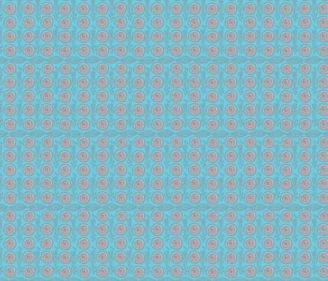 African-sky-blue fabric by kirsten_miller on Spoonflower - custom fabric