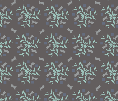 rabbit_nights fabric by kirsten_miller on Spoonflower - custom fabric