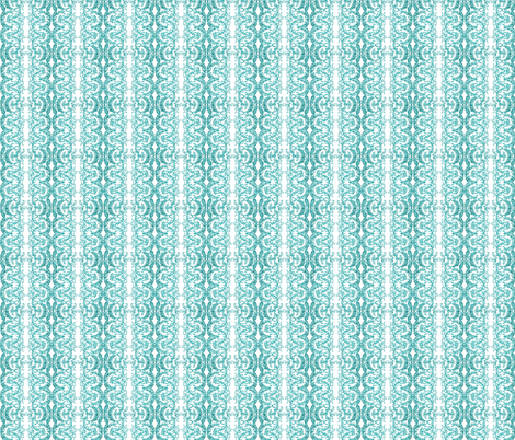 lace-aqua fabric by krs_expressions on Spoonflower - custom fabric
