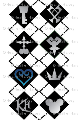 Kingdom Hearts Argyle