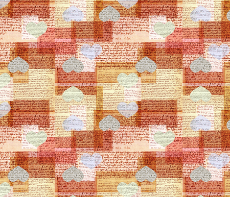 Love_Letters fabric by bjornonsaturday on Spoonflower - custom fabric