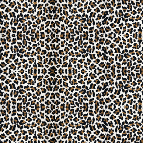 Sweet Leopard SUGAR sack Paris Bebe fabric by parisbebe on Spoonflower - custom fabric