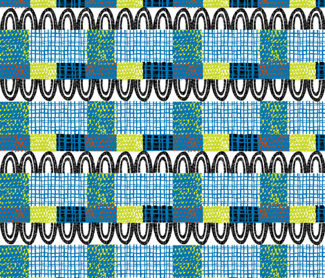 patchwork fabric by ottomanbrim on Spoonflower - custom fabric