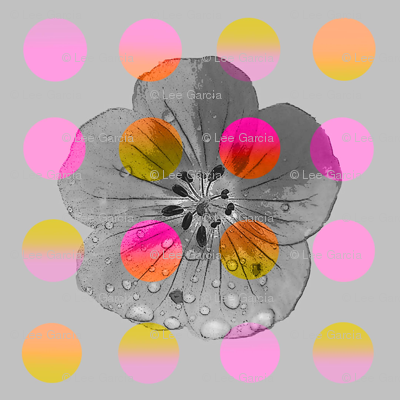 Luminous_polka_flower