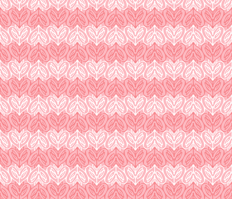love hearts fabric by clarissagunn on Spoonflower - custom fabric