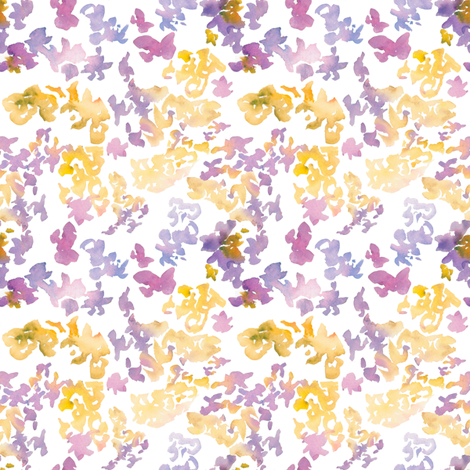Marie print No.2-purple fabric by susan_magdangal on Spoonflower - custom fabric