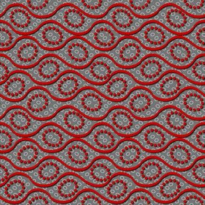 dotted_wave red on gray
