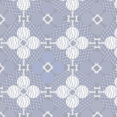 netted_and_knotted Frostbite fabric by glimmericks on Spoonflower - custom fabric
