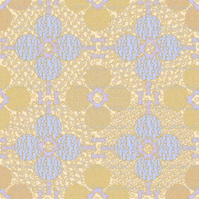 netted_and_knotted blue gold peach