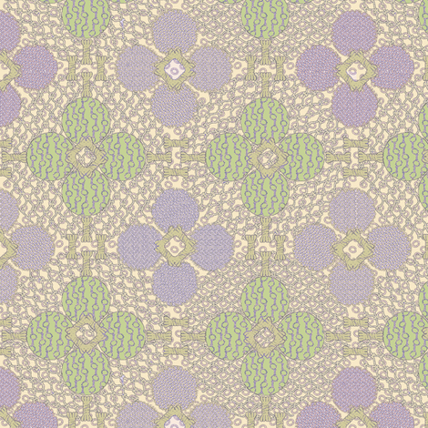 netted_and_knotted  Spring fabric by glimmericks on Spoonflower - custom fabric