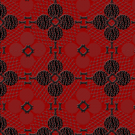 netted_and_knotted_china fabric by glimmericks on Spoonflower - custom fabric