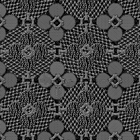 netted_and_knotted_china_black fabric by glimmericks on Spoonflower - custom fabric