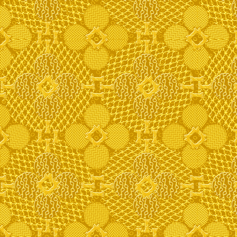 netted_and_knotted_china_gold fabric by glimmericks on Spoonflower - custom fabric