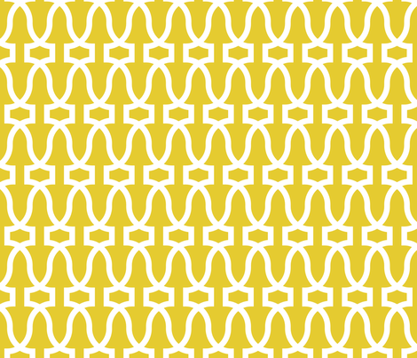 Antichità -- gold/white fabric by libbyunwin on Spoonflower - custom fabric