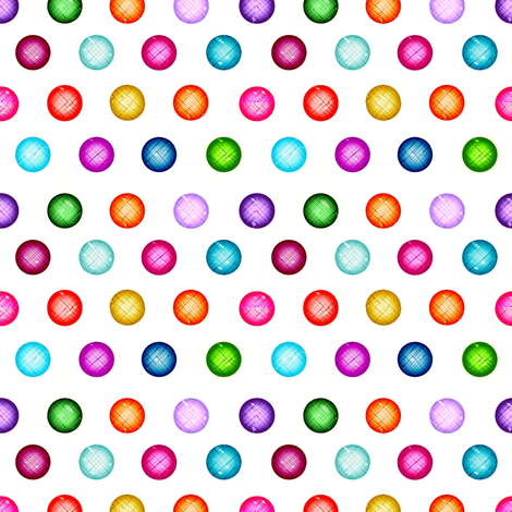 jewel dots fabric by keweenawchris on Spoonflower - custom fabric