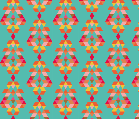 Terre Mere • diamond sky fabric by studiojelien on Spoonflower - custom fabric