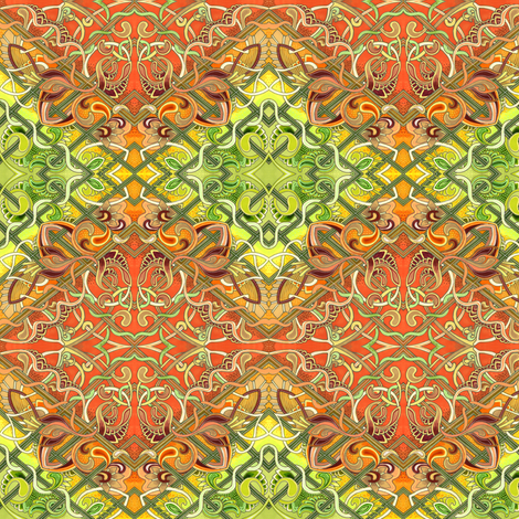 Maybe It Will Grow On You fabric by edsel2084 on Spoonflower - custom fabric