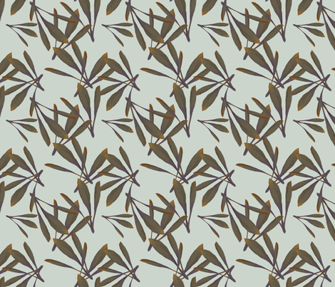 Oak Leaf fabric by artbecks on Spoonflower - custom fabric