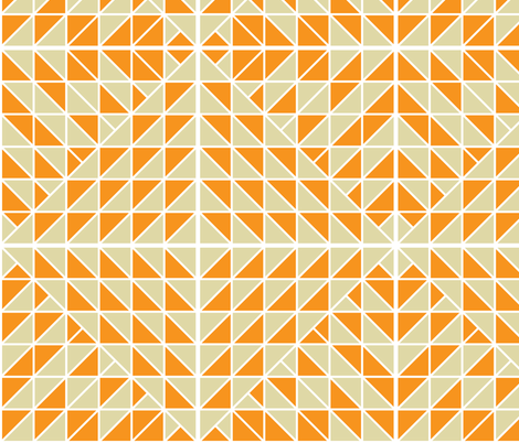 Orange Quilt fabric by kelsey_joronen on Spoonflower - custom fabric