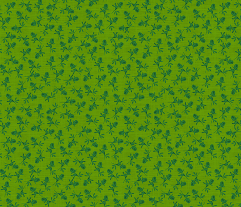 The Grass is Always Greener fabric by brainsarepretty on Spoonflower - custom fabric