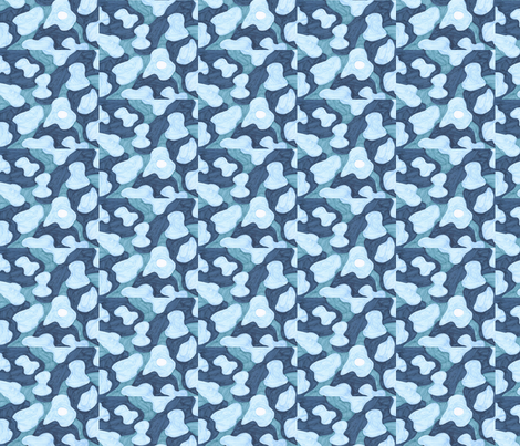 Blue Abstract fabric by empireruhl on Spoonflower - custom fabric