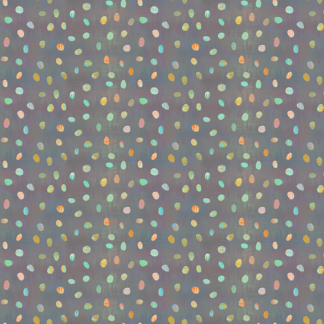sketch_texture_dots_muted_nuggets fabric by glimmericks on Spoonflower - custom fabric