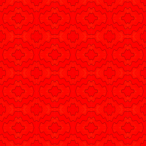 Tracys Red fabric by empireruhl on Spoonflower - custom fabric