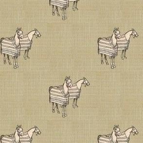 Cozy Cobs on Linen
