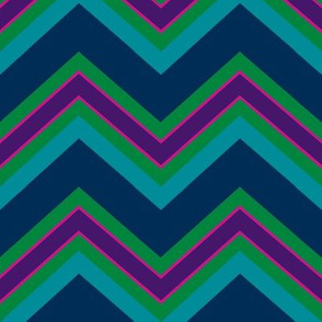 Chevron / peacock