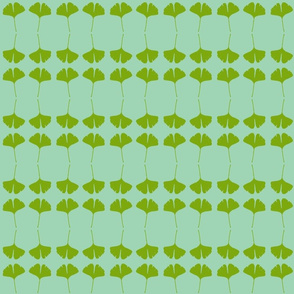 Gingko3-green/aqua