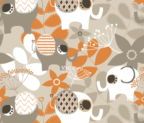 African Nursery fabric by natitys on Spoonflower - custom fabric