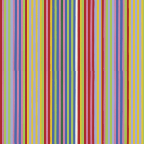 Rainbow Stripe fabric by ragan on Spoonflower - custom fabric