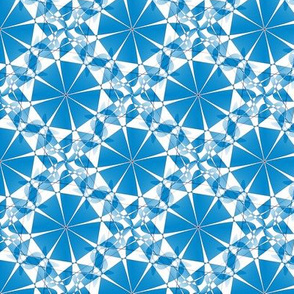 Parasol Kaleidoscope - Blue