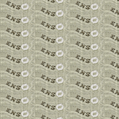 Enso - white and grey fabric by materialsgirl on Spoonflower - custom fabric