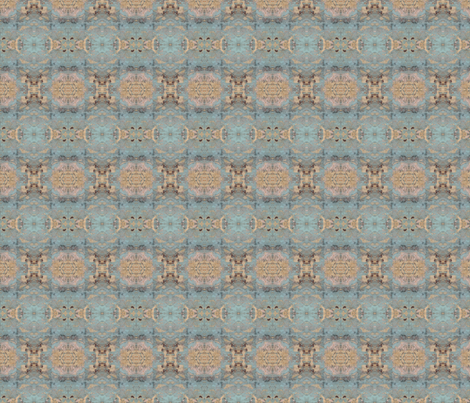 Chattaqua_Blue fabric by gargoylesentry on Spoonflower - custom fabric