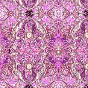 Nouveau Deco Kaleidoscope Valentine (large scale)