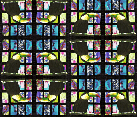 Toucan Square Dance fabric by sarahdesigns on Spoonflower - custom fabric