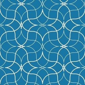 Trattoria -- blue/white